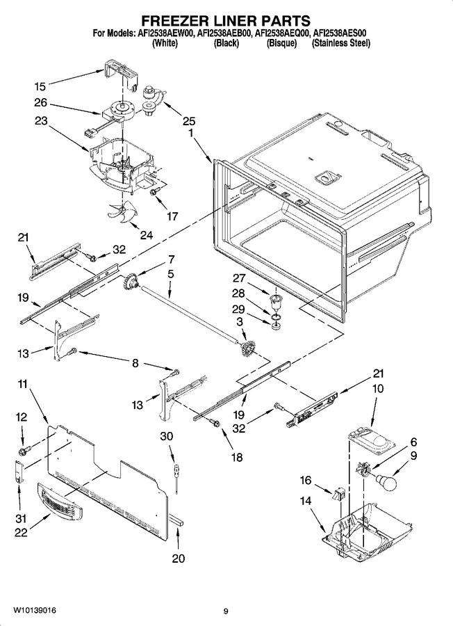 Diagram for AFI2538AEQ00