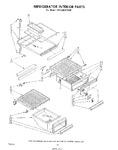 Diagram for 08 - Refrigerator Interior , Lit/optional