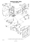 Diagram for 05 - Dispenser Front