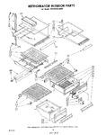 Diagram for 11 - Refrigerator Interior, Lit/optional