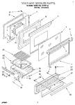 Diagram for 06 - Door And Broiler