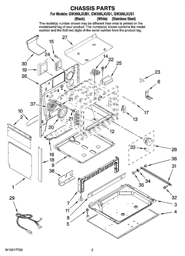 Diagram for GW399LXUB1
