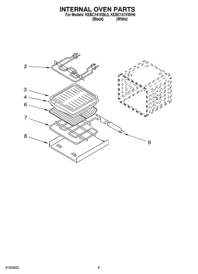 Diagram for KEBC141KWH0
