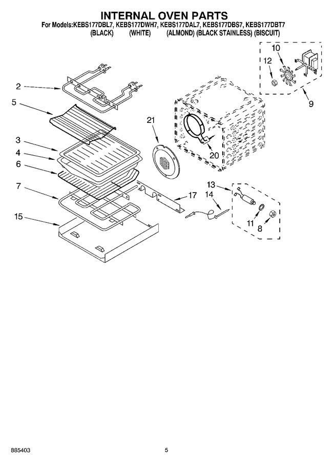 Diagram for KEBS177DWH7