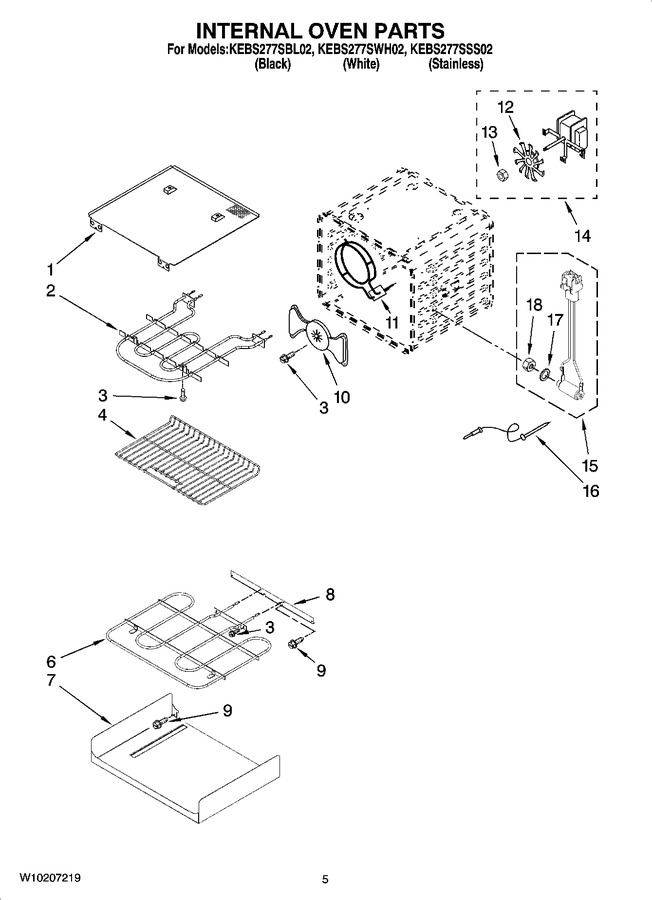 Diagram for KEBS277SBL02