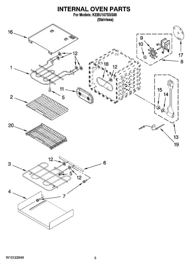 Diagram for KEBU107SSS00