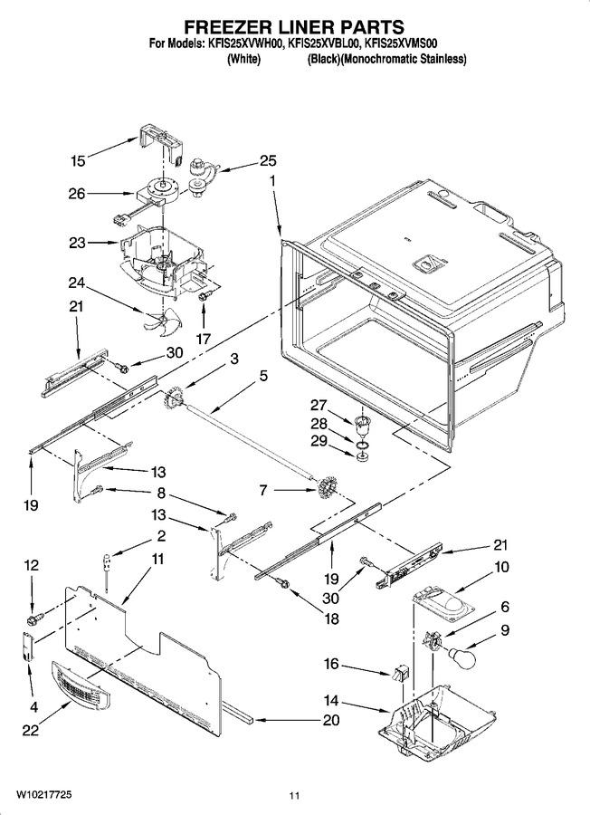 Diagram for KFIS25XVBL00