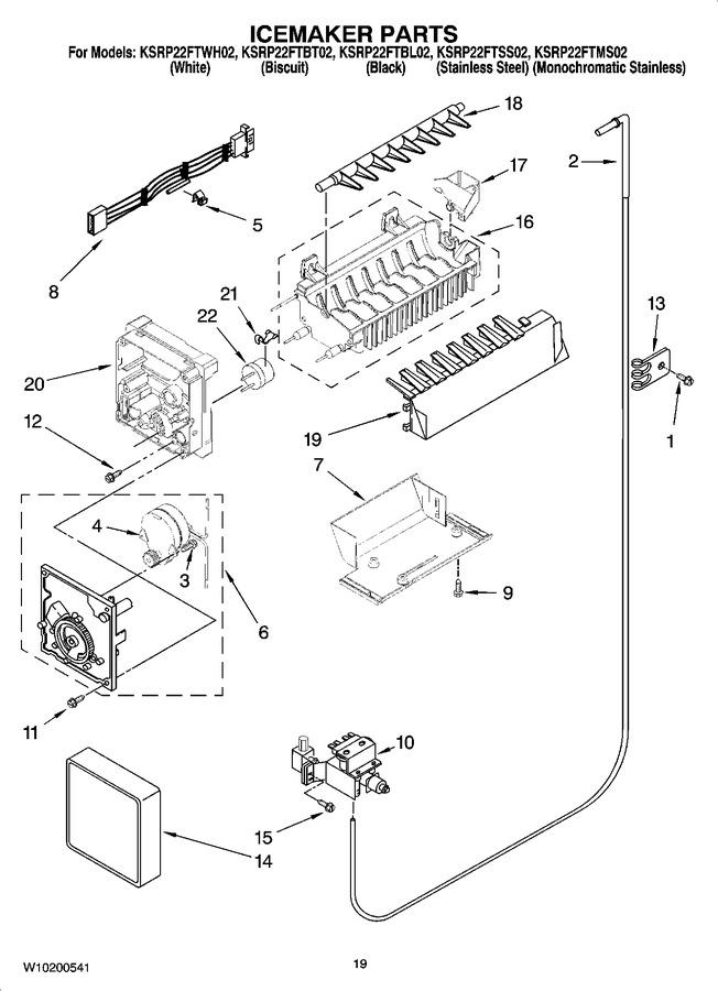 Diagram for KSRP22FTSS02