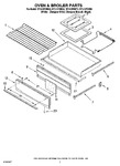 Diagram for 05 - Oven & Broiler Parts