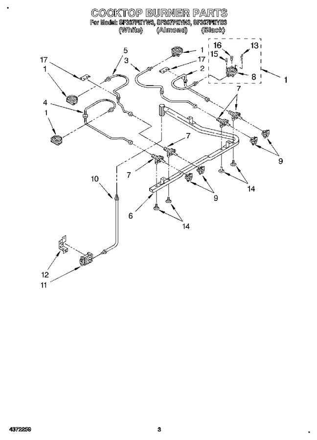 Diagram for SF367PEYN3