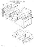 Diagram for 07 - Door & Drawer