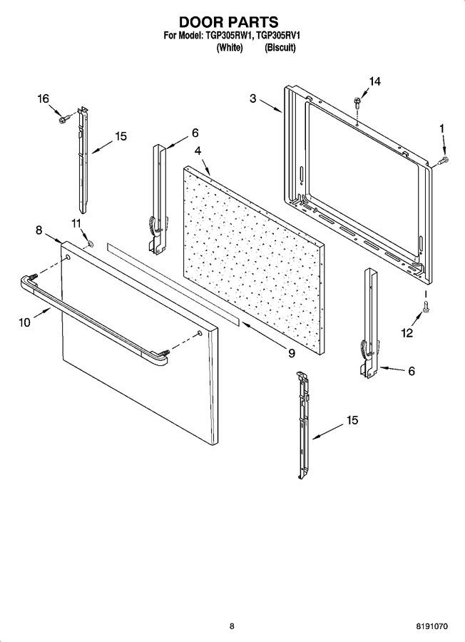 Diagram for TGP305RV1