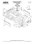 Diagram for 01 - Cooktop Parts