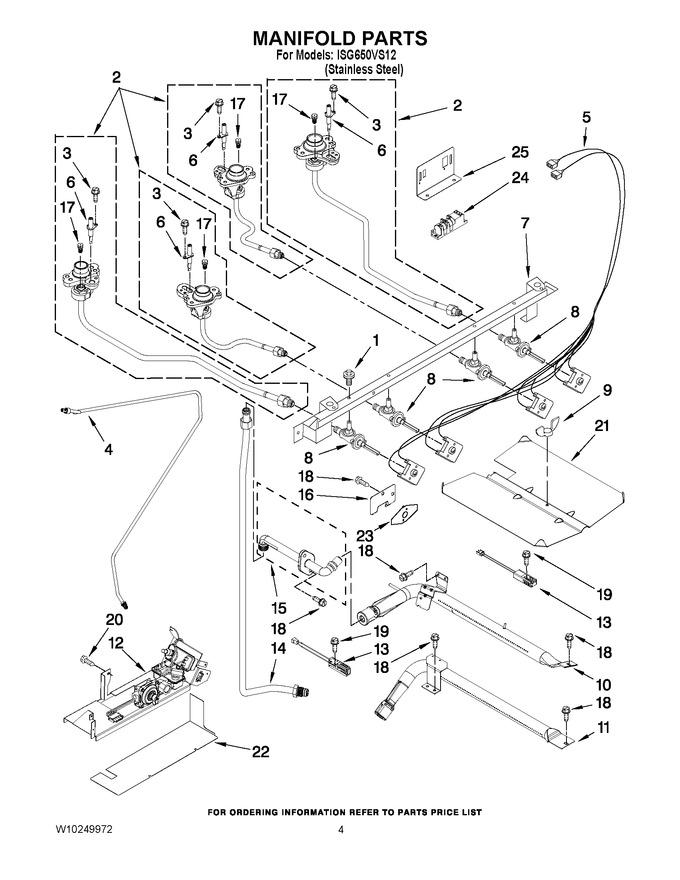 Diagram for ISG650VS12
