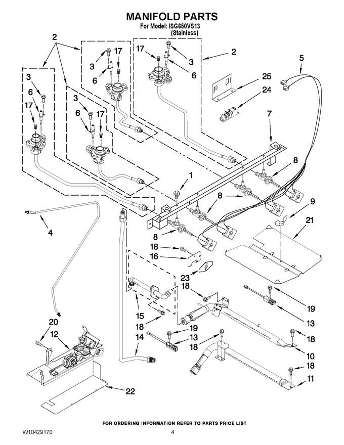 Diagram for ISG650VS13