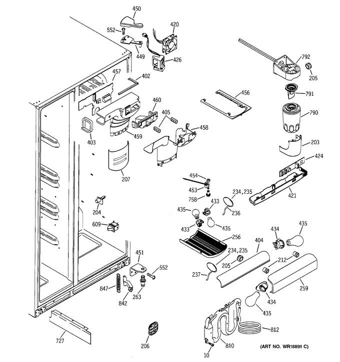 Diagram for GSS25TGMBBB