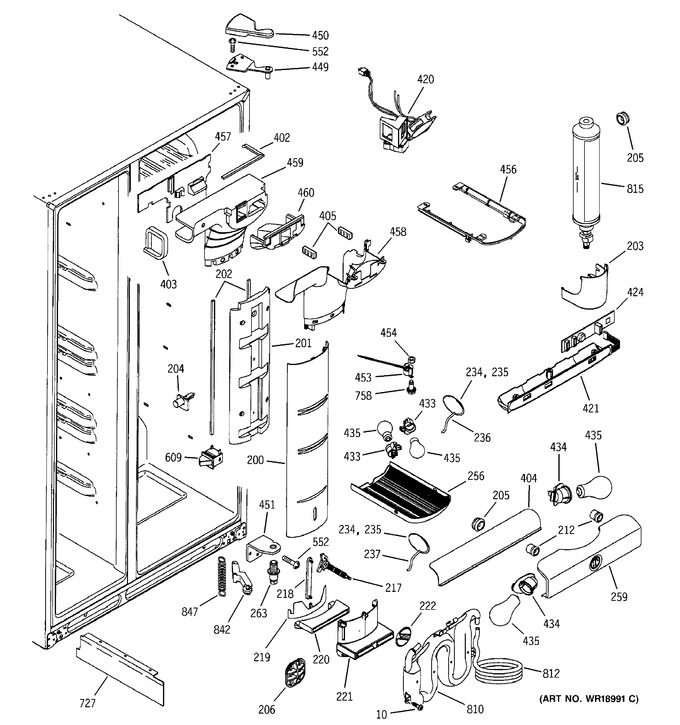 Diagram for PSG25SIMACBS