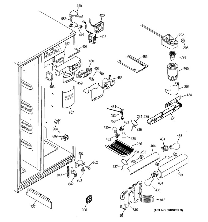 Diagram for GSS25LGMABB