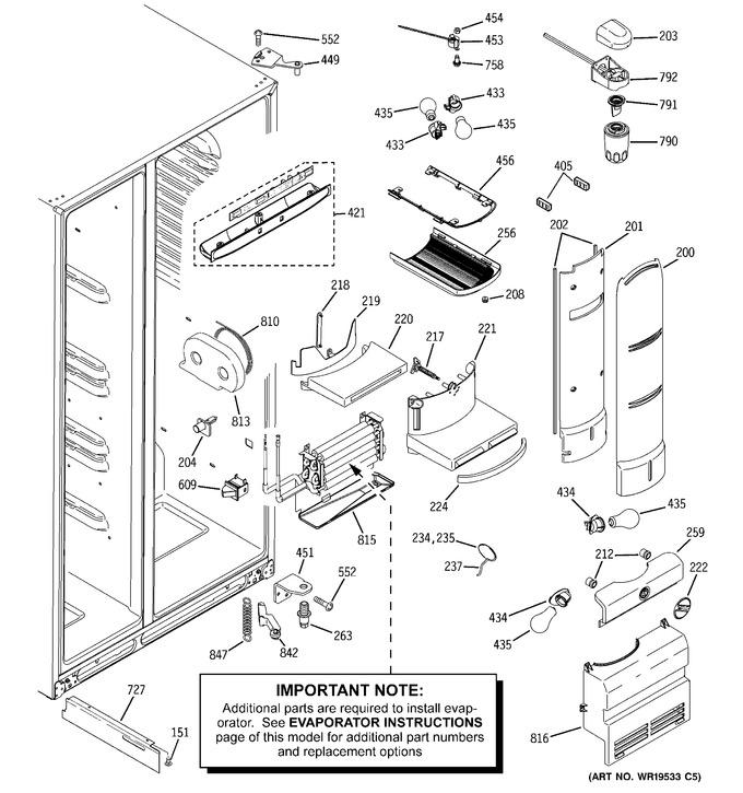 Diagram for PSH25PSSBSV
