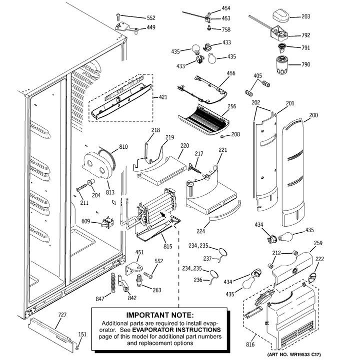 Diagram for PJG25PGTAFSV