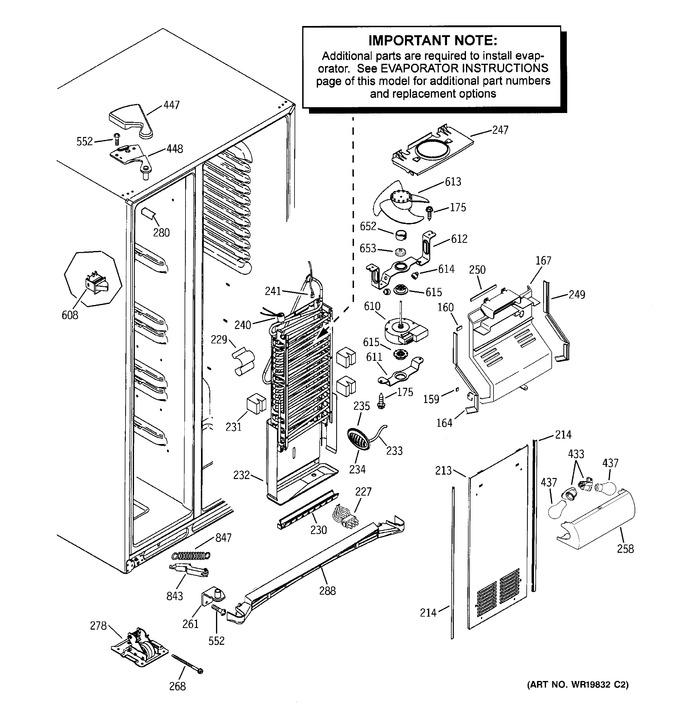 Diagram for DSF25KGTBBG