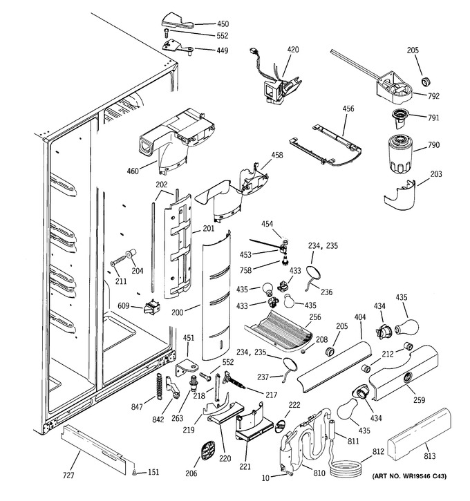 Diagram for GSS25LGTCWW