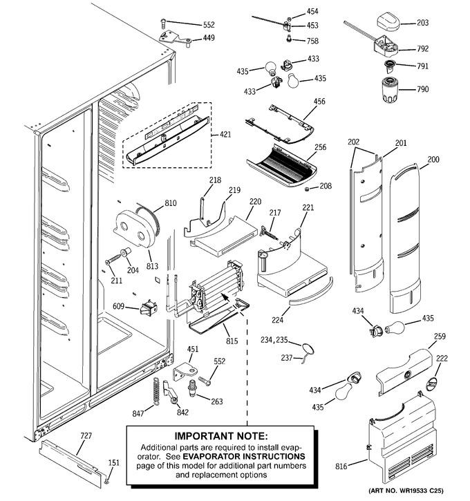Diagram for ZFSB25DTASS