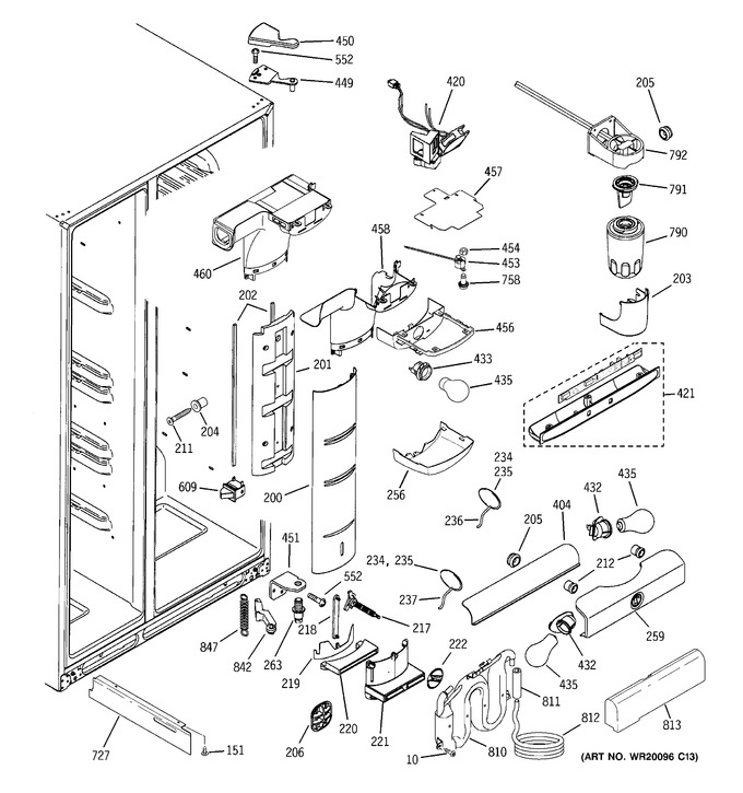 Diagram for PCK23NHSDFWW