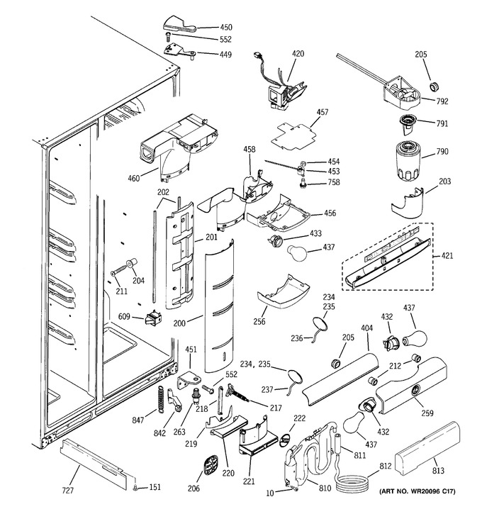 Diagram for PSF23NGTEBB