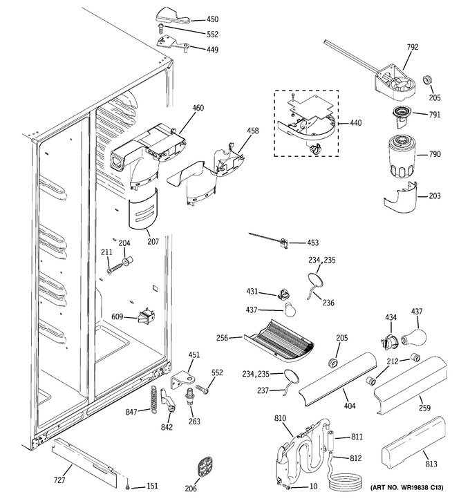 Diagram for GSS25WGTABB