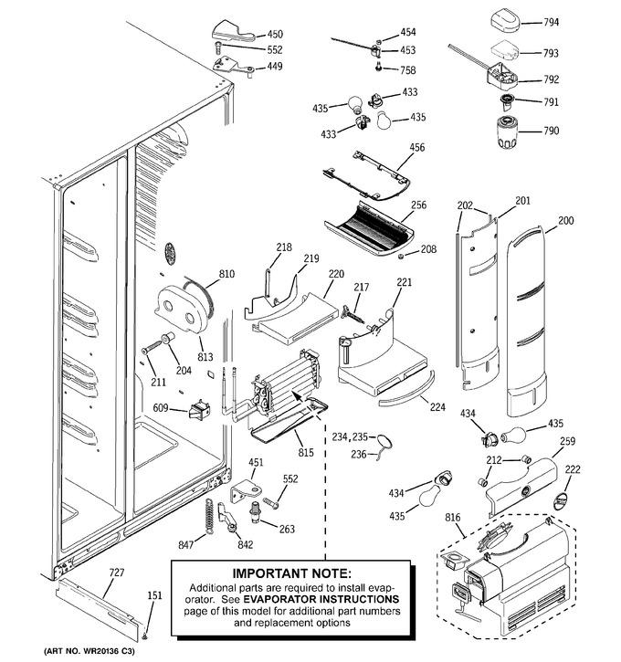 Diagram for PCF23PGWABB