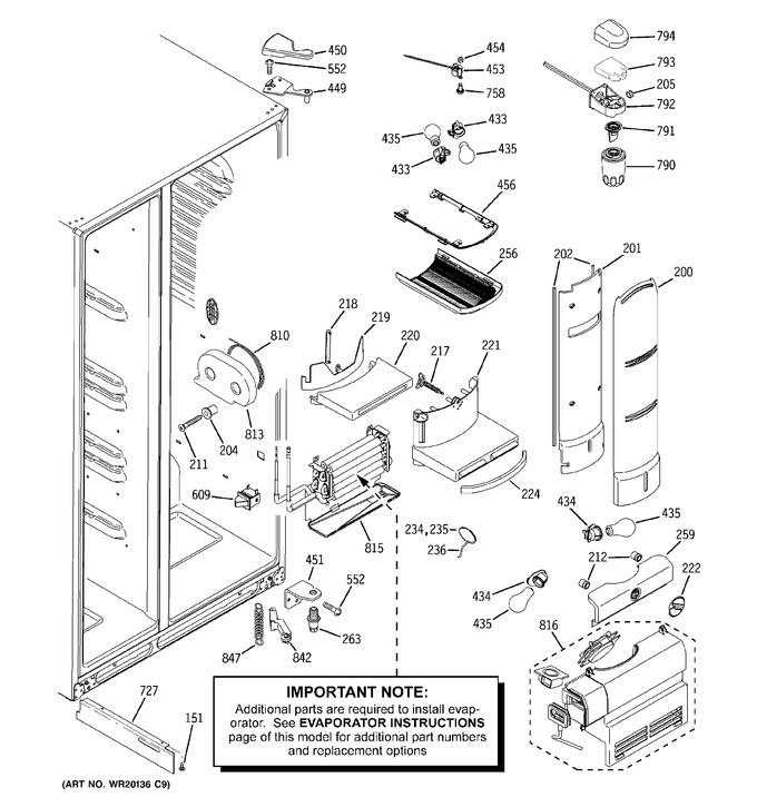 Diagram for PCF23PGWCBB