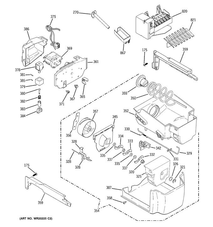 Diagram for PCF25NGWCBB