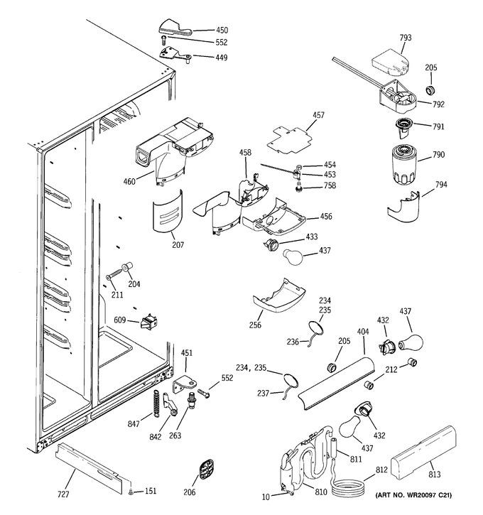 Diagram for DSF26DHWCWW