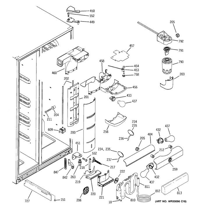 Diagram for GSF25LGWCBB
