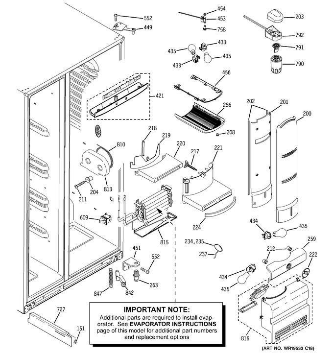 Diagram for PHG25MGTAFBB