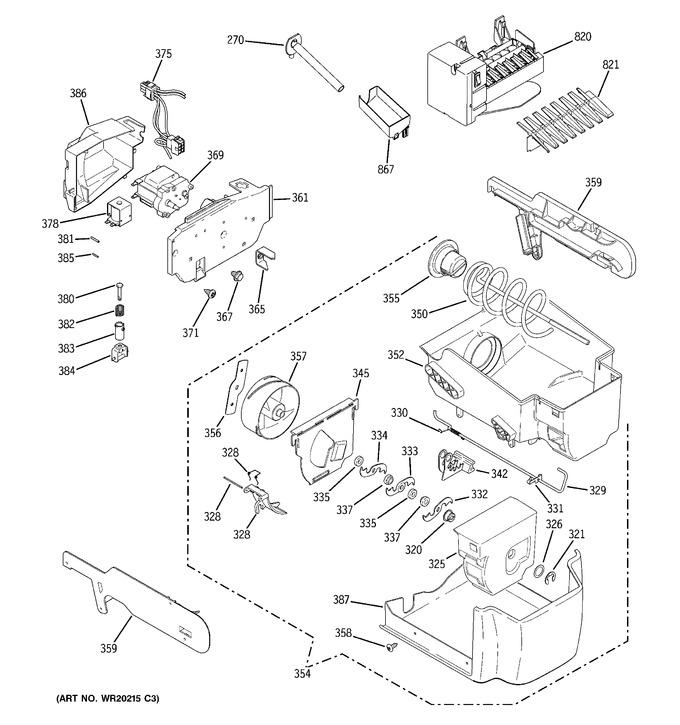 Diagram for PSDW3YGXBFSS