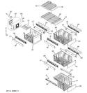Diagram for 7 - Freezer Shelves