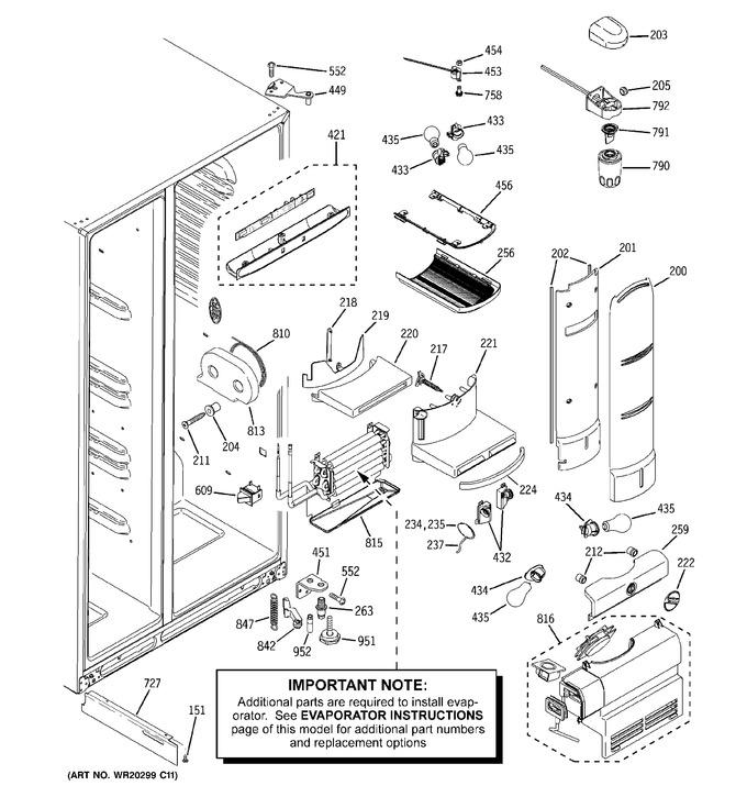 Diagram for PJE25MGTFFKB