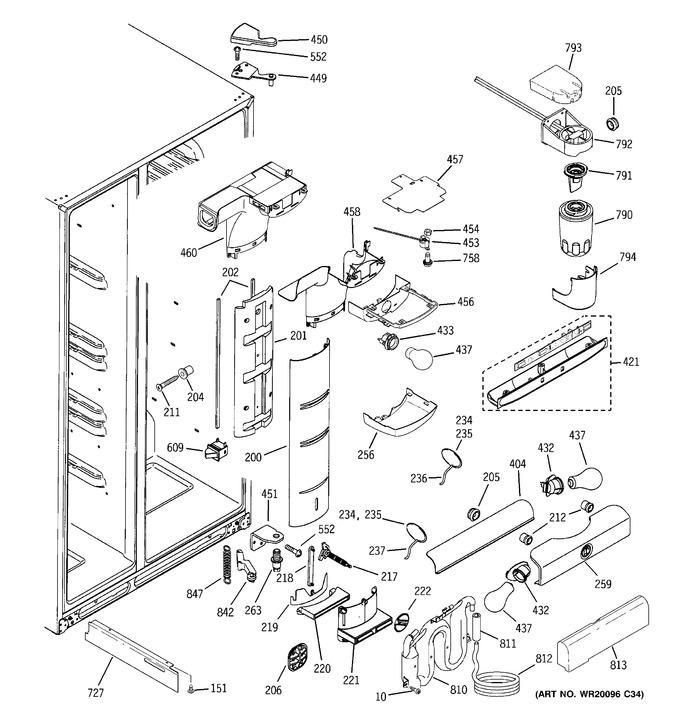 Diagram for PCF23NGWABB