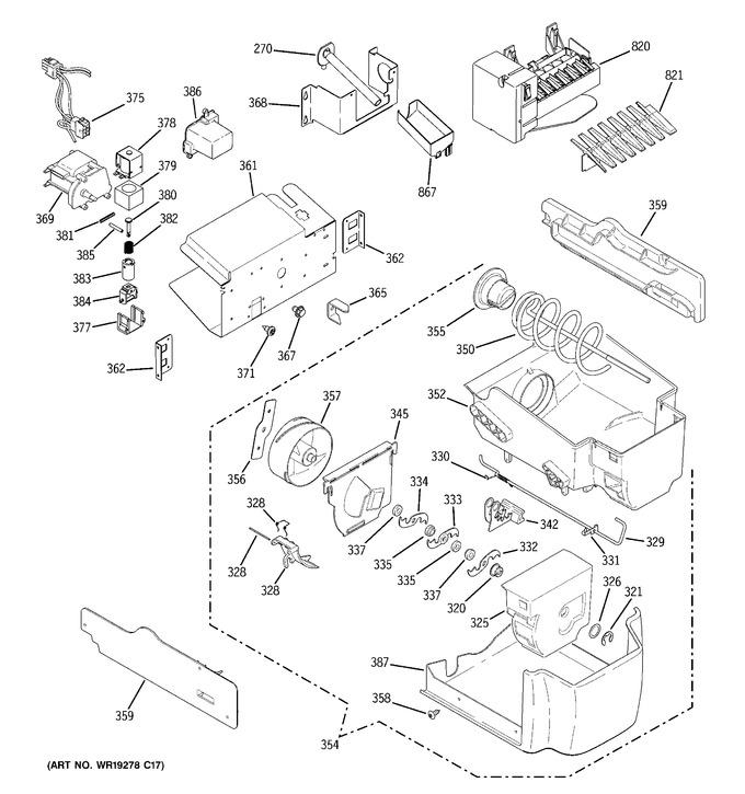 Diagram for PSH25MSTBSV