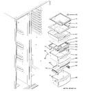 Diagram for 8 - Fresh Food Shelves