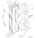 Diagram for 4 - Fresh Food Door