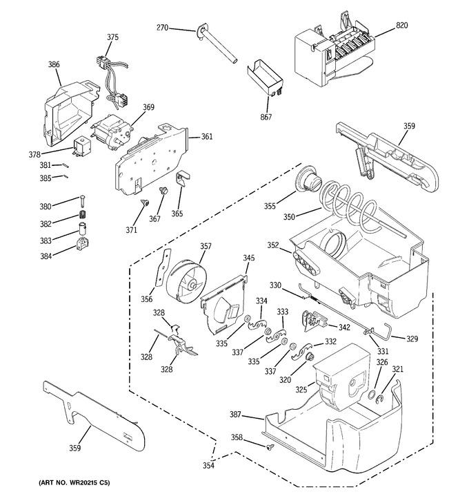 Diagram for PSDW3YGXCFSS