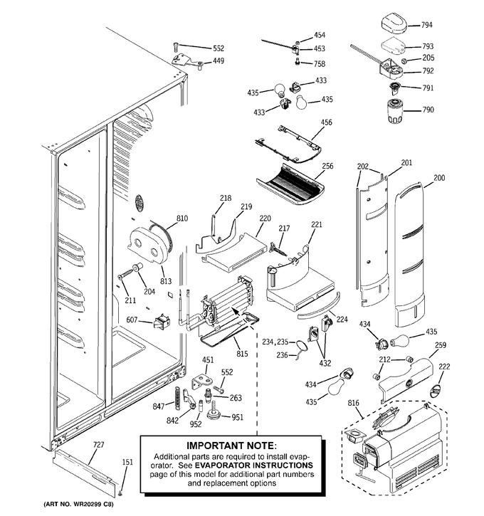 Diagram for PSCF5VGXCFWW