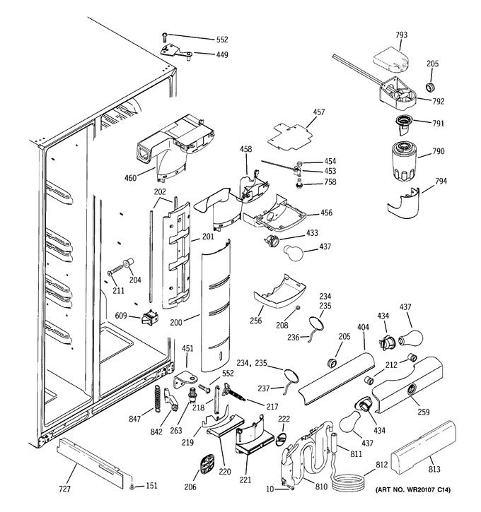 Diagram for PSI23MGWACV