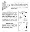 Diagram for 6 - Evaporator Instructions