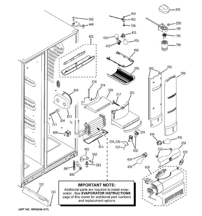 Diagram for PJE25MGTIFKB