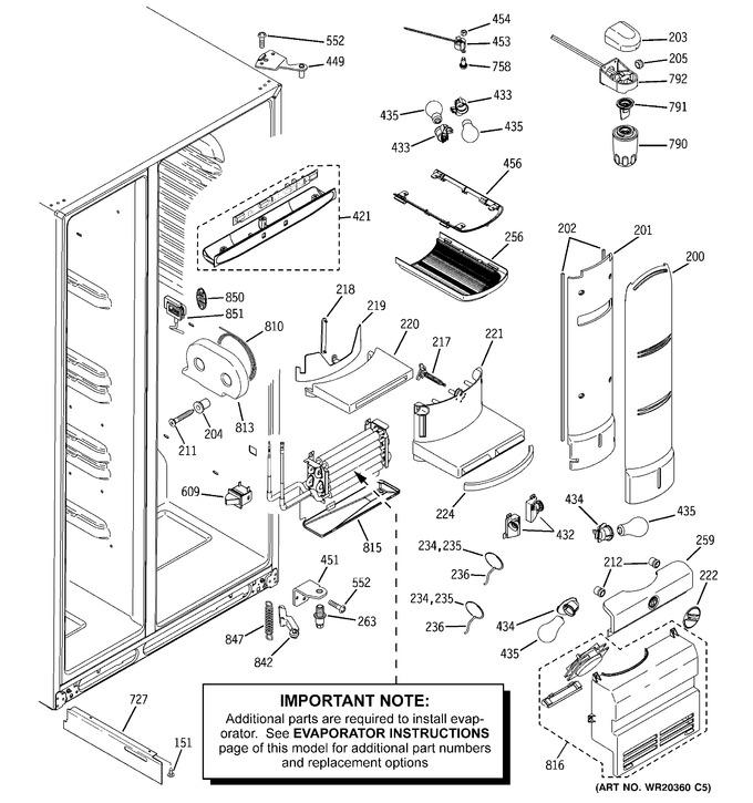 Diagram for PJE25PGTIFKB