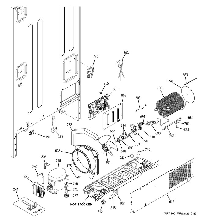 Diagram for PDCF1NBXBWW